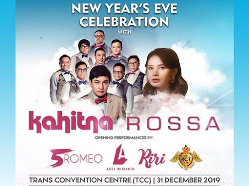 Konser Rossa dan Kahitna Trans Luxury Hotel