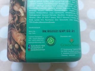 azalea shampoo halal