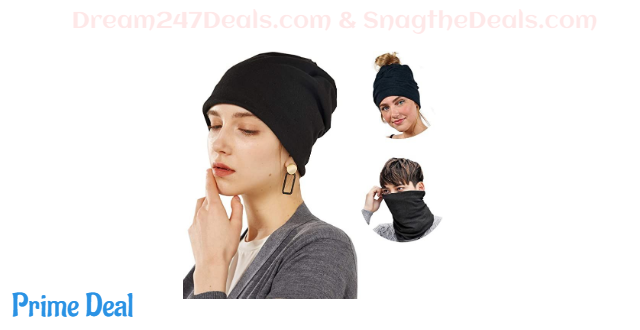 50% OFF   Women's Beanie Ponytail Hat --1 or 2 pack
