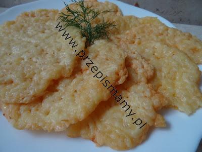 Domowe chipsy serowe