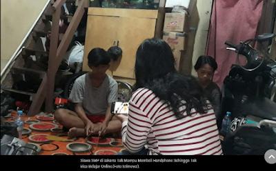 Siswa SMP di Jakarta Ini Nilainya Kosong karena Tak Punya Ponsel Pintar
