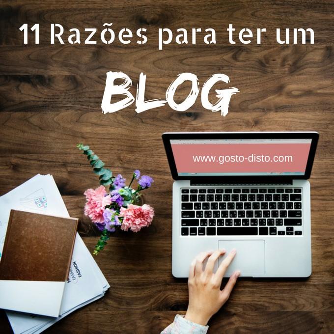 Razões para ter um blog