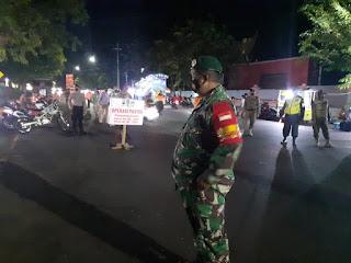 Di Kota  Probolinggo, Gelar Operasi Yustisi Malam Hari