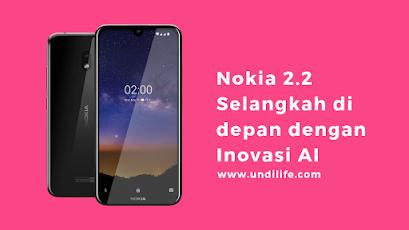 Nokoa 2.2 Android Review spesifikasi