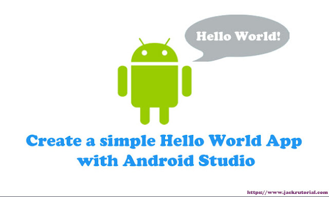 Hello World Android Studio - Creating Android Hello World App