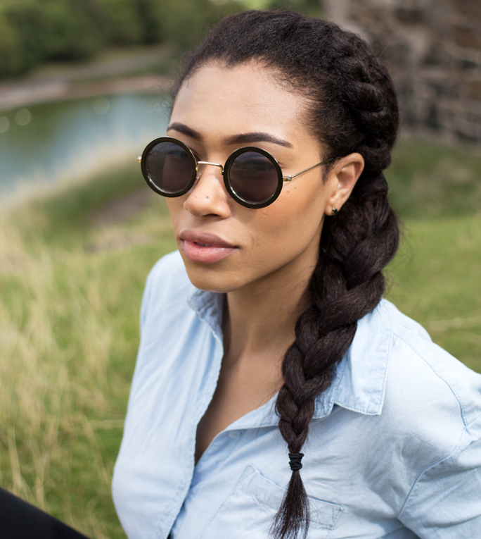 Remarkable Fresh Lengths Hairstyle Side Front Twist Amp Braid Short Hairstyles For Black Women Fulllsitofus