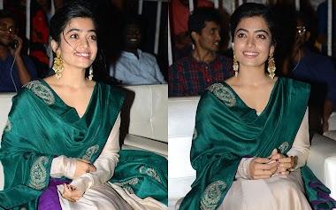 Rashmika Mandanna At Bheeshma Telugu Movie Thanks Meet At Vizag Photos