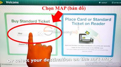 Hướng dẫn cách mua thẻ Standard Ticket