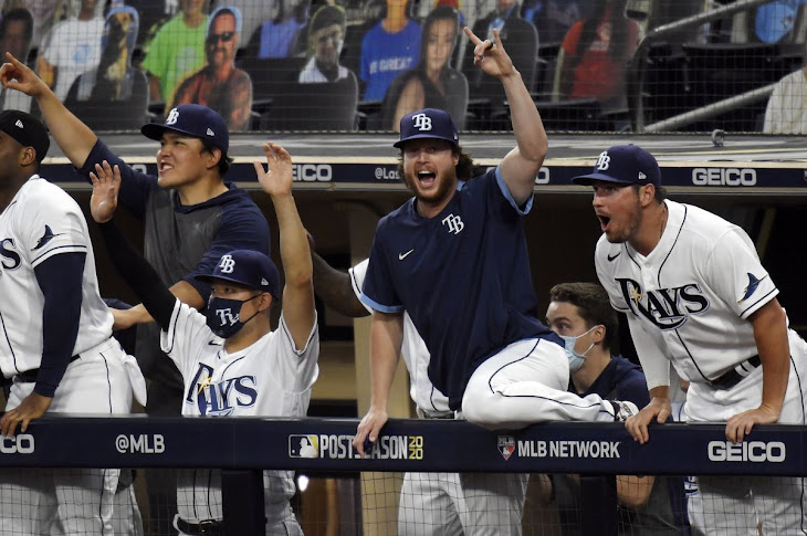 The Rays Advance To The 2020 World Series