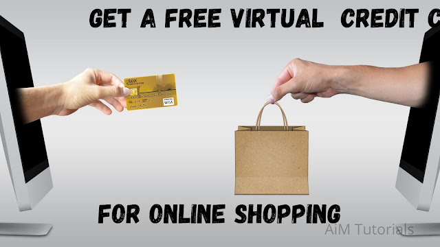 How to create a working virtual credit card for free