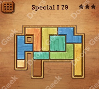 Cheats, Solutions, Walkthrough for Wood Block Puzzle Special I Level 79