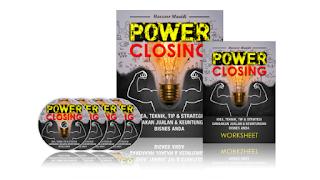 Tingkatkan Jualan Anda Melalui Teknik Power Closing