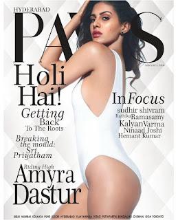 Amyra Dastur for Hyderabad Paws magazine March 2017
