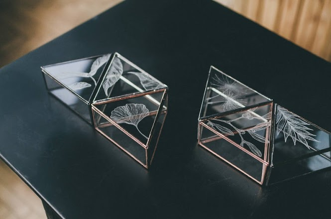 Handmade Modular Glass Jewelry Box