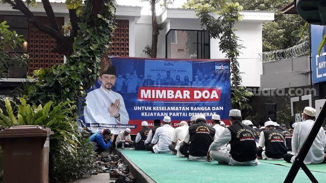 Usai KLB Moeldoko Ditolak Pemerintah, DPP Demokrat Gelar Pengajian Doakan AHY-SBY