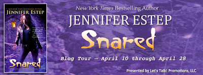 Excerpt, Giveaway, Snared, Jennifer Estep, Bea's Book Nook