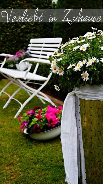 Außergewöhnliche Gartendeko und kreative Upcycling Idee: Die Wäschetonne als Gartendeko mit Potential