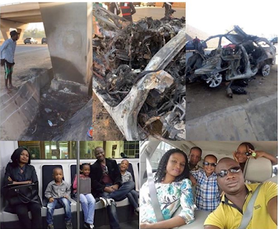 So Sad: Fatal Accident as Family-of-5 burnt to death in Abuja on Xmas day