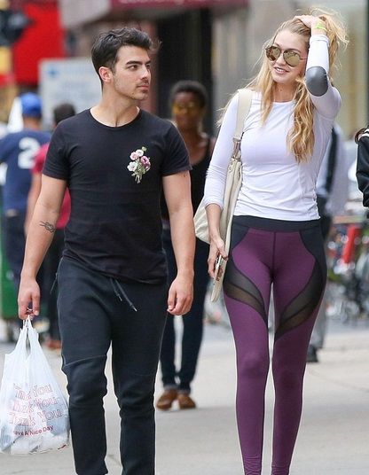 Gigi Hadid and Joe Jonas June 2015