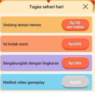 mendapatkan uang di aplikasi twinkling misi