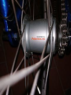 Schimano Nexus 8 Nabe