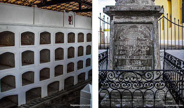 Cemitério dos Nagôs, no Rosarinho dos Pretos, Cachoeira, Bahia