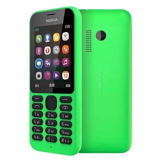 Nokia 215 Dual SIM New Phonebook 1000 Slot MicroSD Garansi Resmi Nokia Indonesia