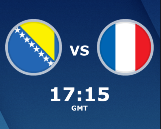 بث مباشر مباراة فرنسا والبوسنة والهرسك