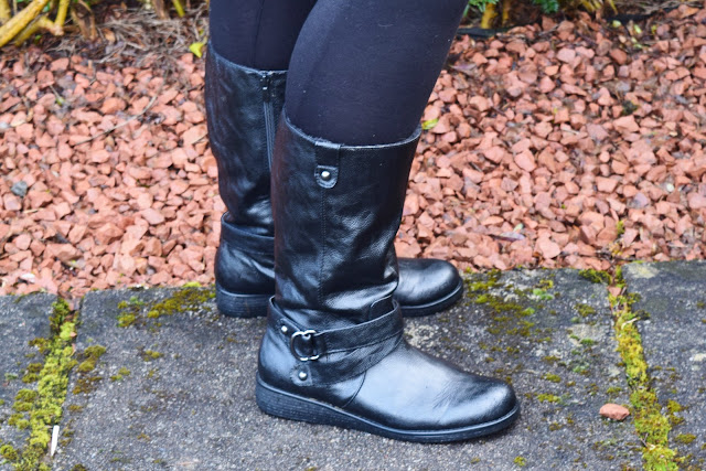 Next Black Forever Comfort Mid-Length Boots