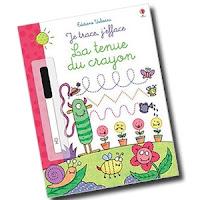 La tenue du crayon Maternelle Usborne cahier activité blog avis critique chronique