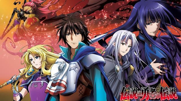 Densetsu no Yuusha no Densetsu - Daftar Anime Fantasy Terbaik Sepanjang Masa