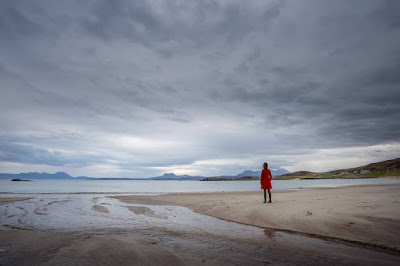Mellon Udrigle Beach by Laurence Norah
