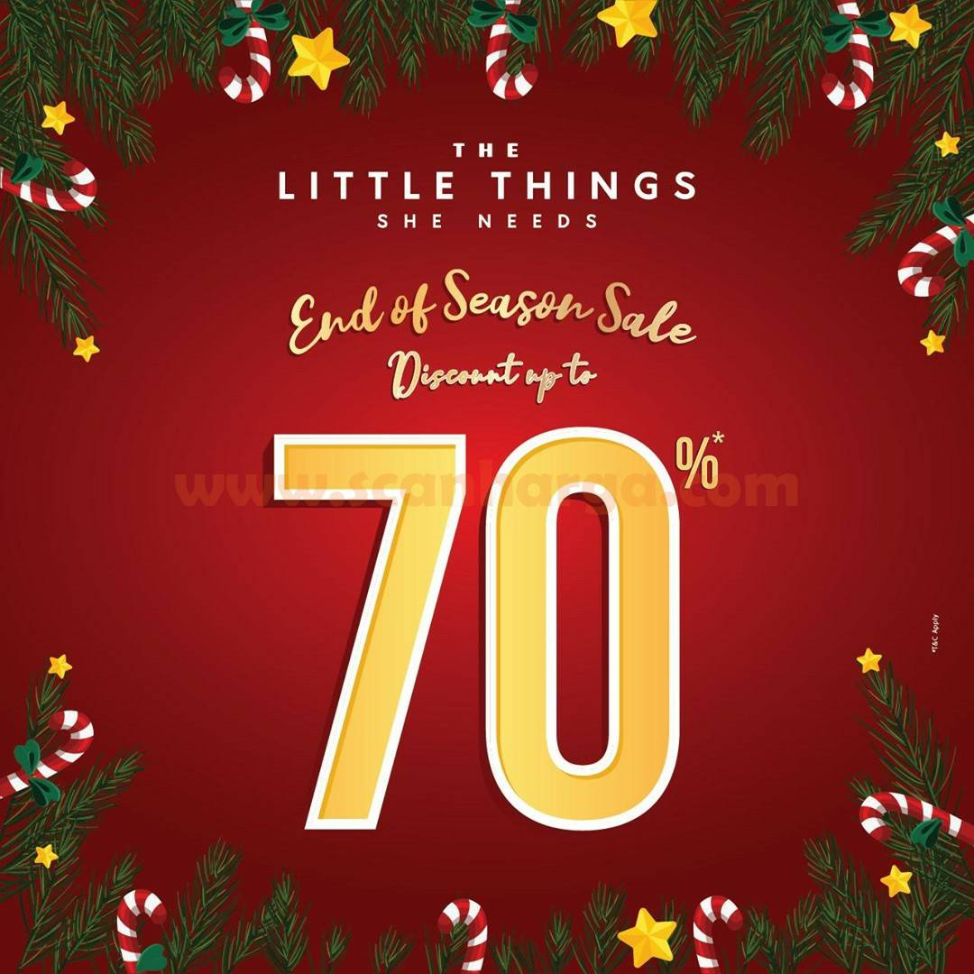 The Little Things She Needs! End Of Season Sale Discount Up To 70%