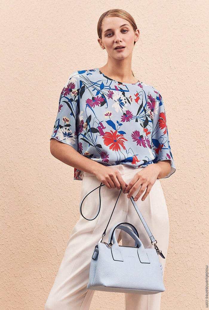 Moda primavera verano 2020 ropa de mujer.