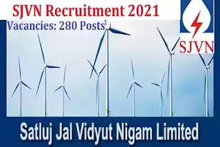 SJVN Apprentice Jobs in India 2021