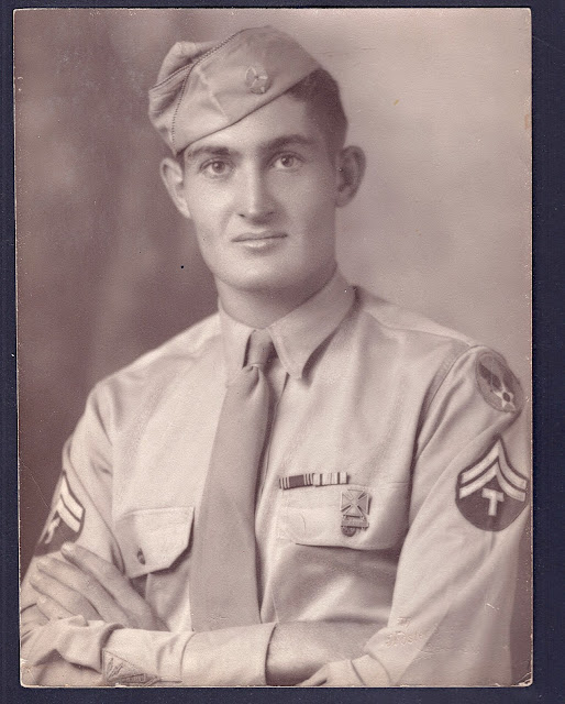 Randolph Maynard Owen Jr. WWII uniform