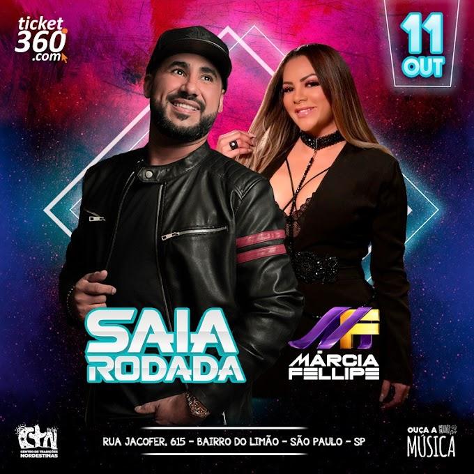 Saia Rodada e Márcia Fellipe no CTN - 11 de Outubro 2019