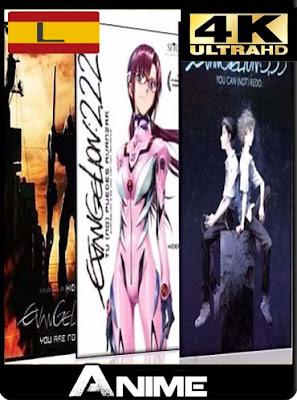 Evangelion (1 ,2 y 3) 4K 2160p Latino [GoogleDrive-Mega]