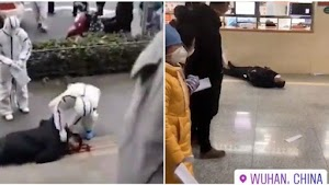 Viral, Video Warga Wuhan Berjatuhan di Jalan Akibat Virus Corona