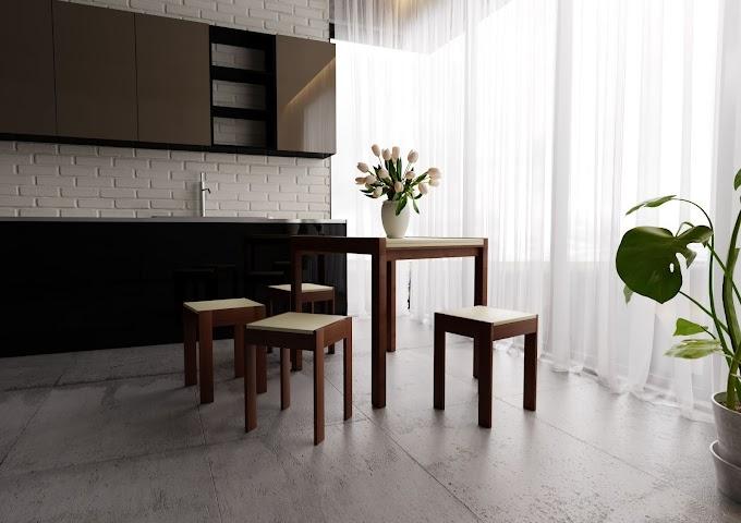 Стол раскладной и стулья  Элегант ТМ ЧДК