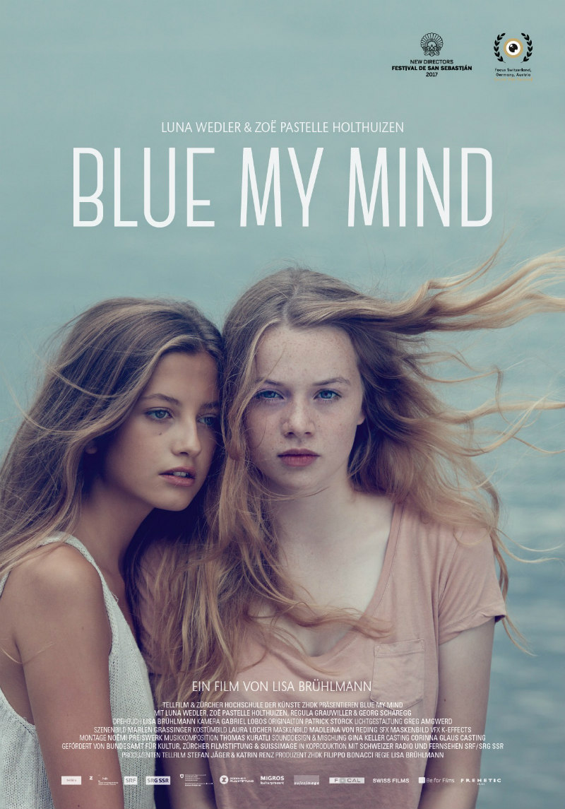blue my mind poster