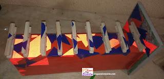 Como transformar uma gaveta velha em um organizador de lenços estiloso