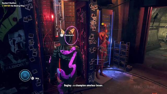 Screenshot Gameplay Watch Dogs: Legion PC