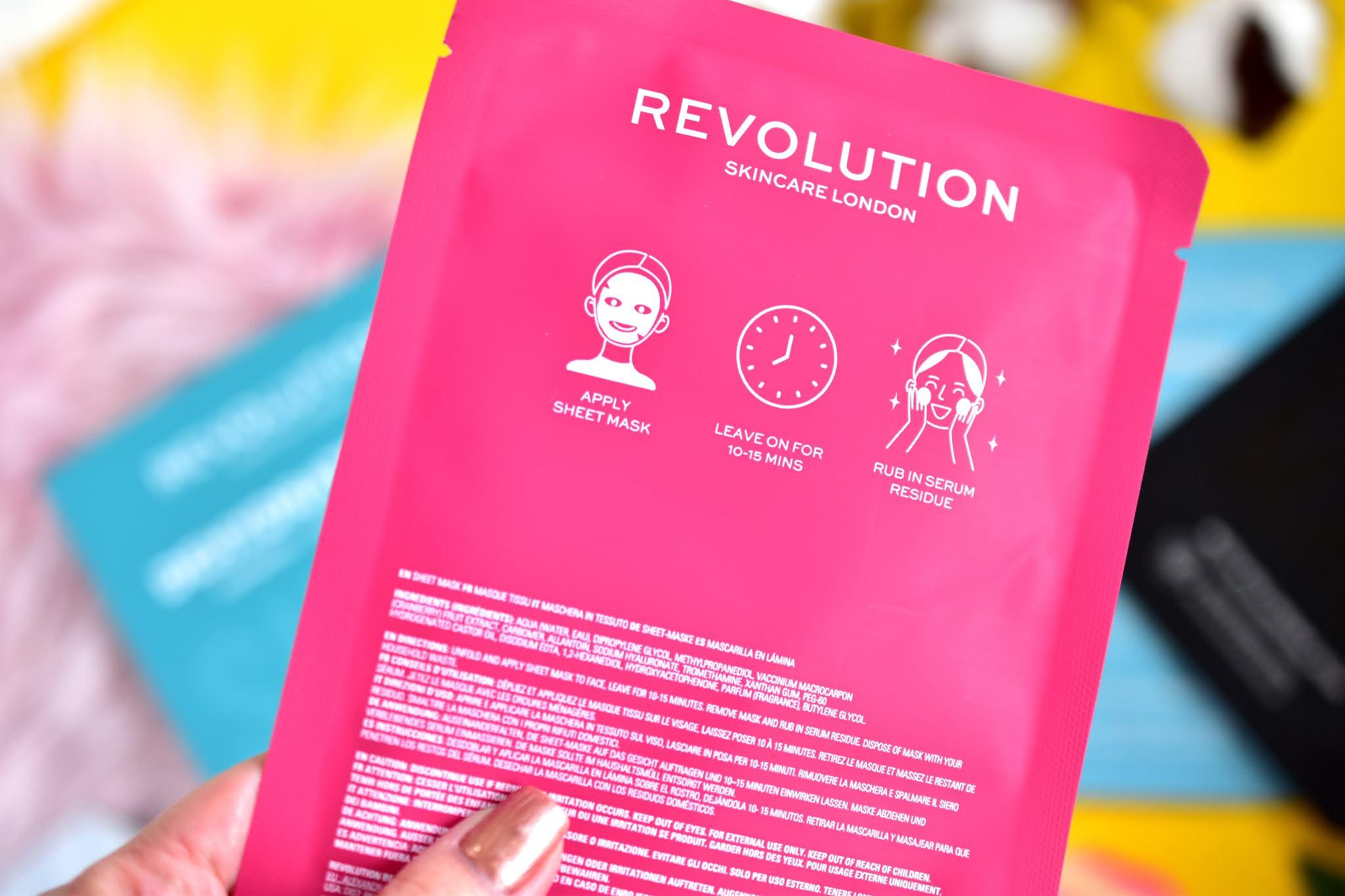 revolution skincare maska