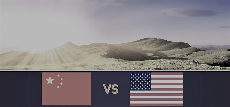 不毛な中国vs米国