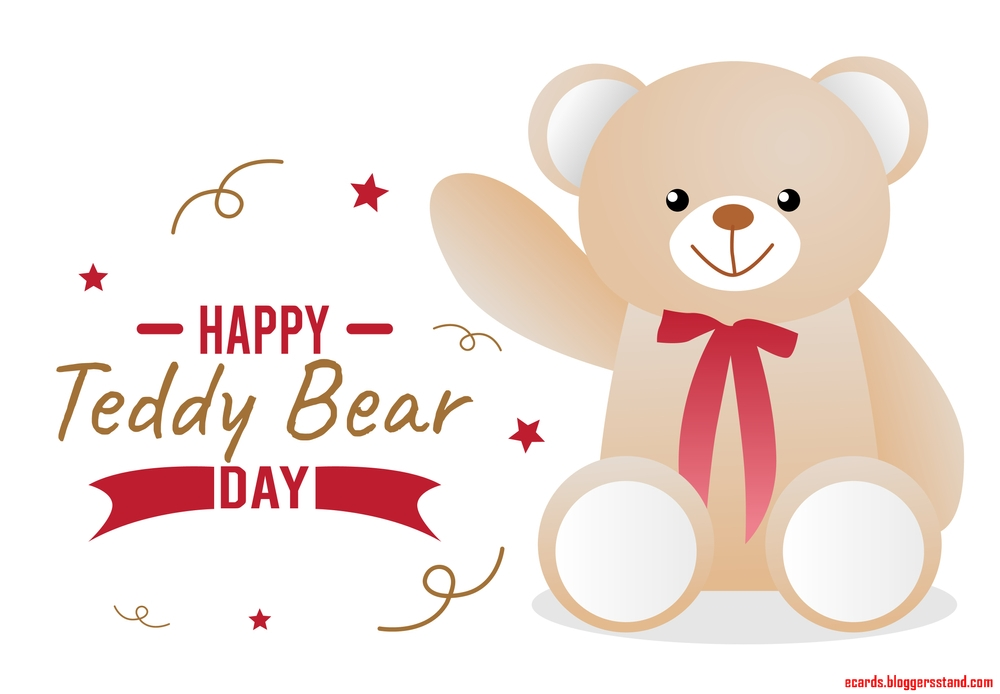Happy Teddy bear Day 2021 Wishes, messages, greetings, wallpapers, quotes, sms text