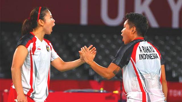 Greysia Polii dan Apriyani Rahayu Raih Medali Emas Pertama di Olimpiade Tokyo.lelemuku.com.jpg