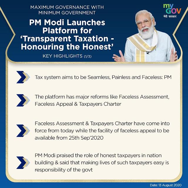 prime-minister-narendra-modi-launches-platform-for-transparent-taxation-honouring-the-honest