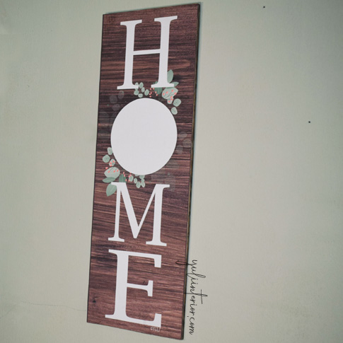 Home Wood Sign, Decor in Port Harcourt Nigeria