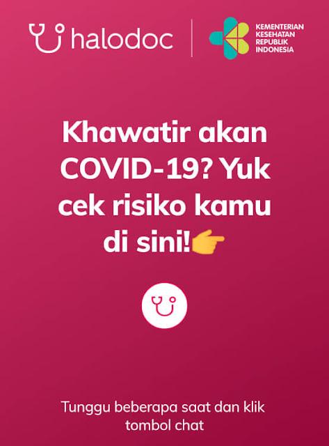 informasi covid 19 halodoc